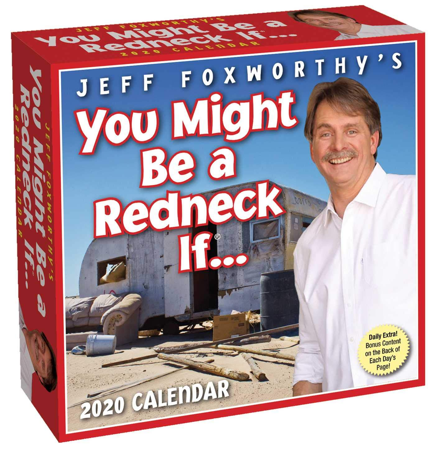 Ccc Calendar 2020 Jeff Foxworthy's You Might Be A Redneck If 2020 Day to Day
