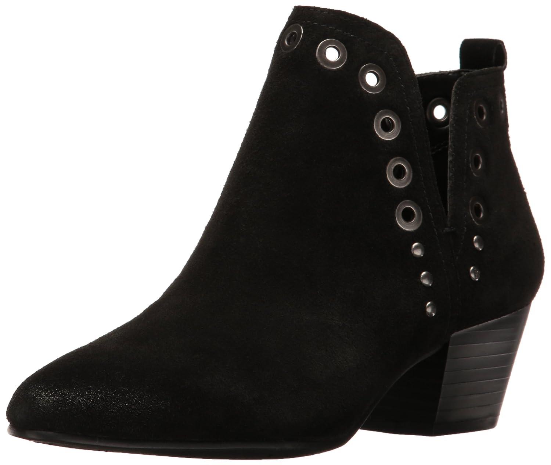 Sam Edelman Women's Rubin Ankle Bootie B01J5OGL4K 9.5 B(M) US|Black Suede