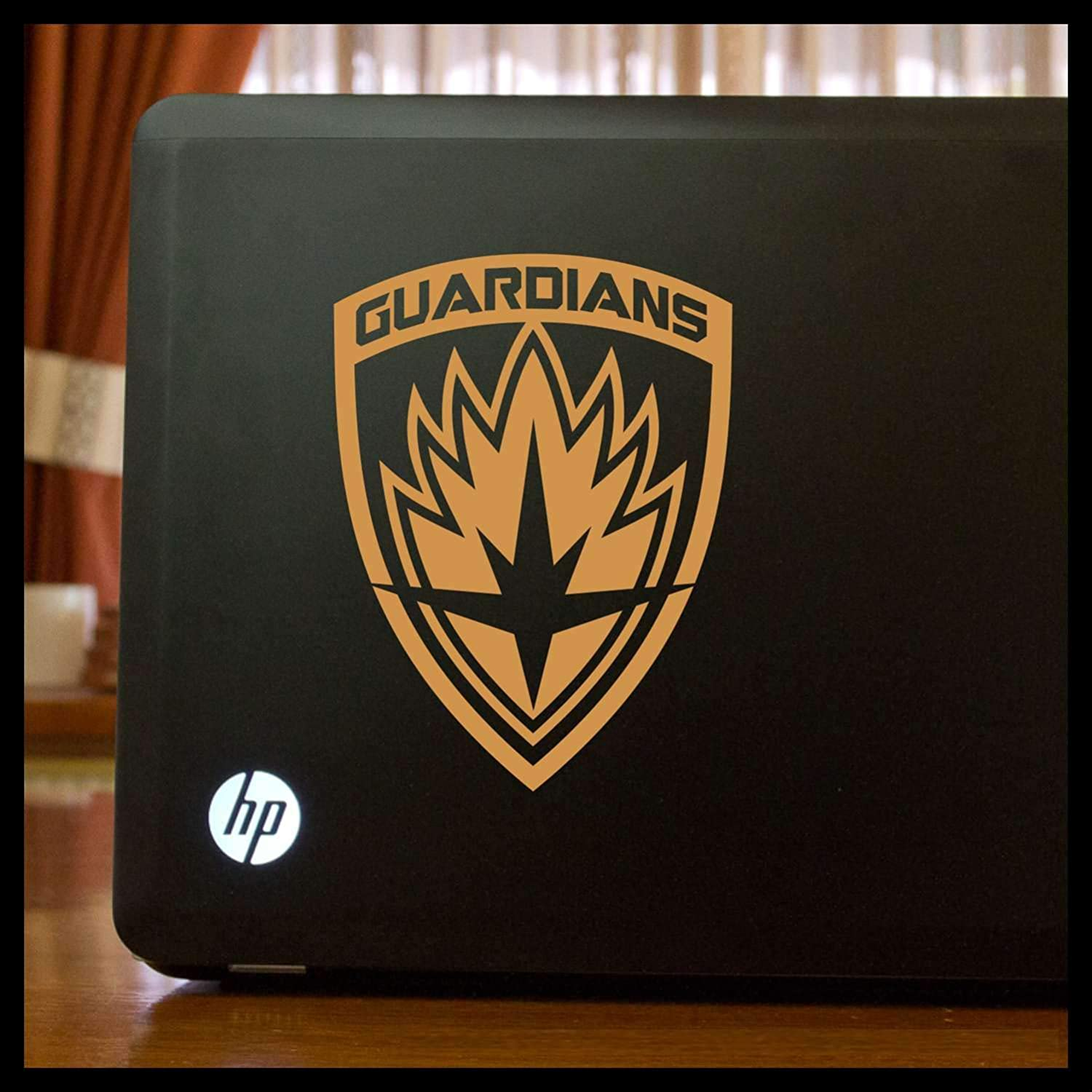 Guardians of the Galaxy emblem SMALL Vinyl Car/Laptop Decal