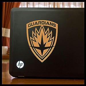 Guardians of the Galaxy emblem SMALL Vinyl Car/Laptop Decal
