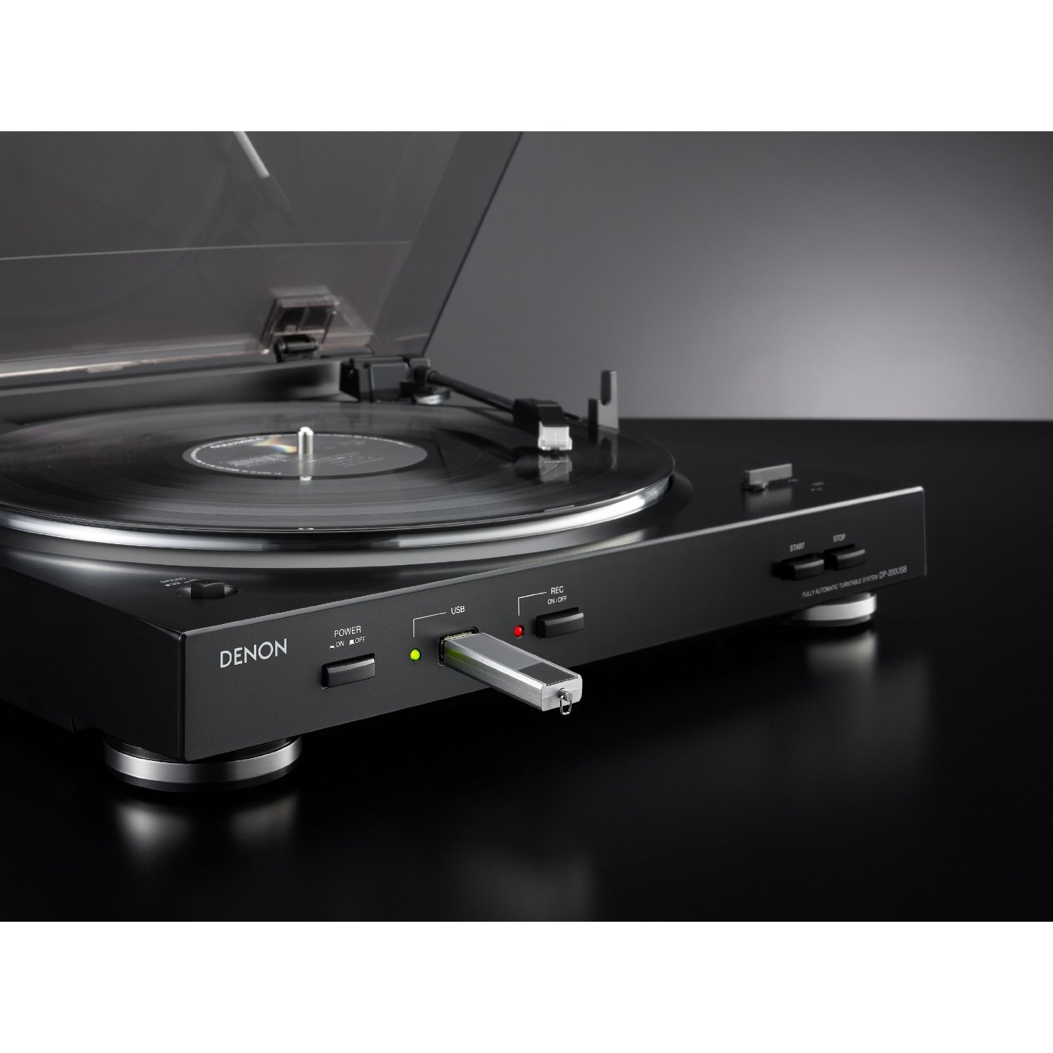 Amazon.com: Denon DP-200USB Fully Automatic Turntable with MP3 Encoder:  Home Audio & Theater
