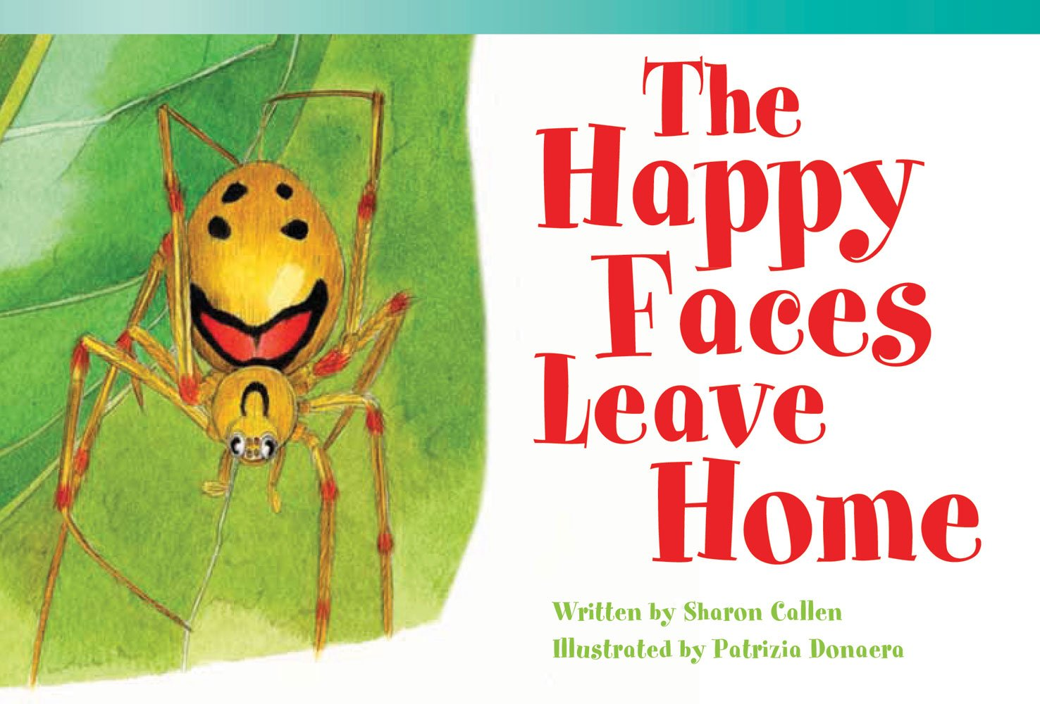 Read Online The Happy Faces Leave Home (library bound) (Fiction Reader) pdf epub