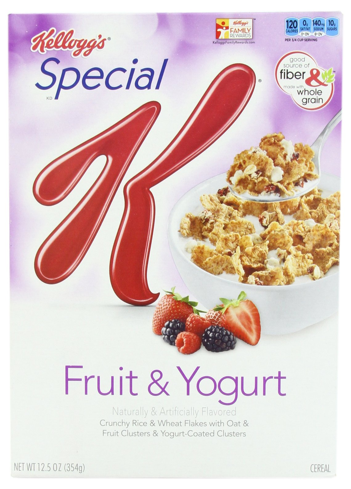 Special K Cereal, Fruit and Yogurt, 12.5 Ounce