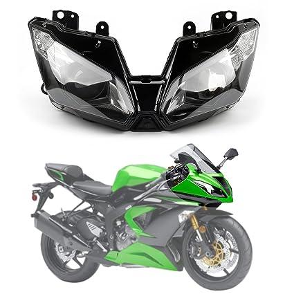 Areyourshop - Faro delantero para motocicleta Kawasaki Ninja ...