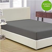 Komfort Home Tek Kişilik Penye Lastikli Çarşaf 100x200 CM