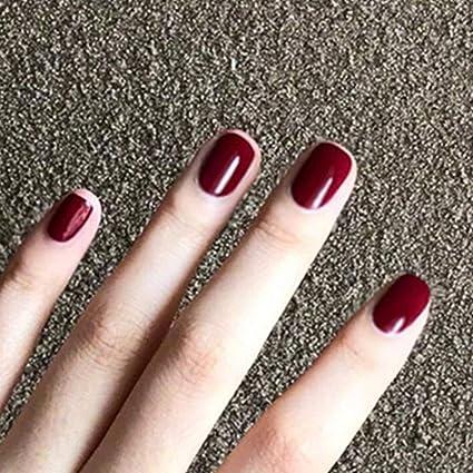 BloomingBoom 24 unidades de 12 tamaños de uñas postizas de ...