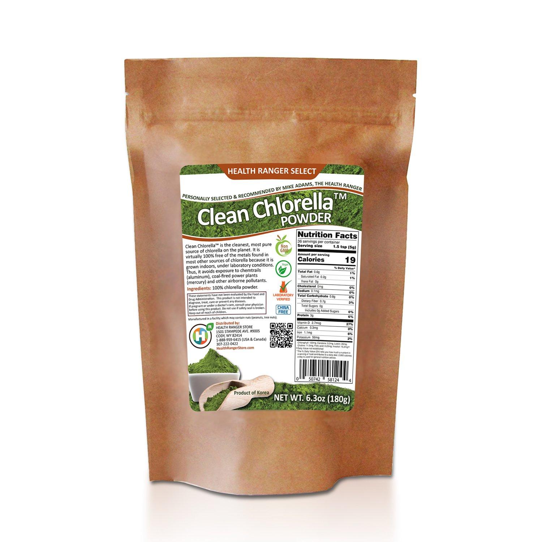 Clean Chlorella Powder (180g)