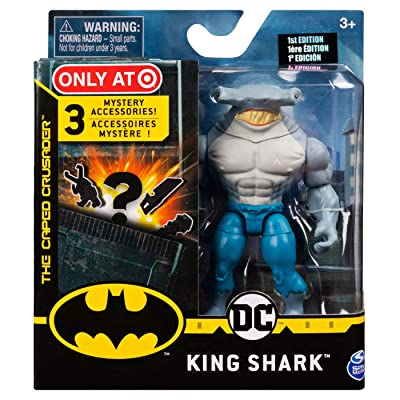 DC Batman 2020 King Shark (Target Exclusive) 4-inch Action Figure by Spin Master: Toys & Games