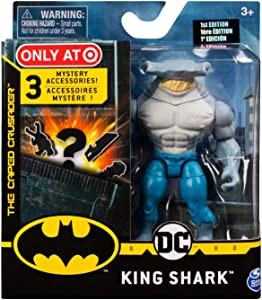 DC Batman 2020 King Shark (Target Exclusive) 4-inch Action Figure by Spin Master