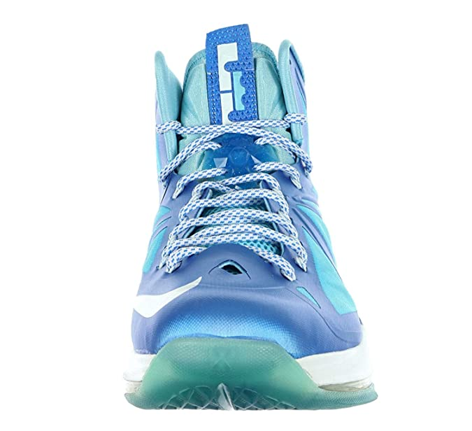 premium selection f6d6b 13b91 Amazon.com   Lebron X + Blue Diamond Sz 14 (Photo Blue Windchill-Td PL Bl)    Basketball