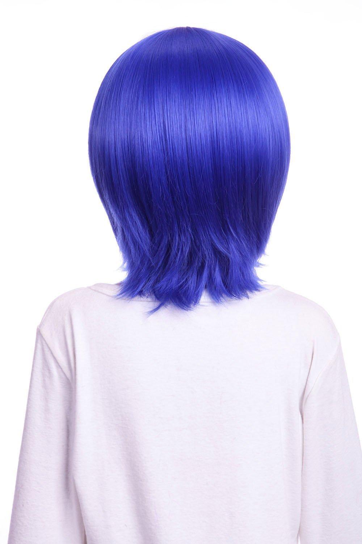 Kawaii-Story Kaito W-10-F11 Juvia Loxar Perruque de Style Bleu 33 cm