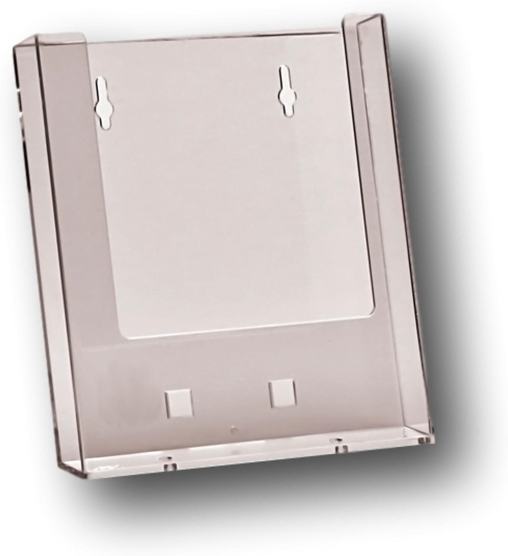 A5 Leaflet Holder Brochure Dispenser /& Clip on Business Card Holder Display