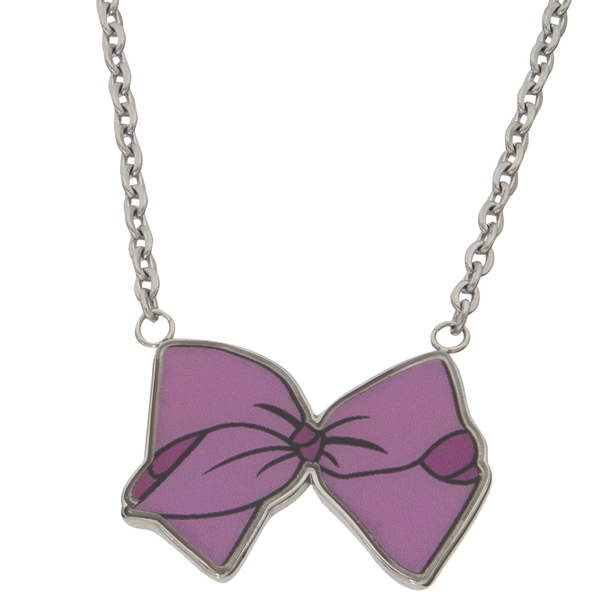 realreal wang bow pendant vera necklaces the products jewelry enlarged diamond necklace