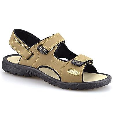 Gemo Mens New Hiking Walking Summer Beach Mules Sports Trekking Sandals  Shoes Size[UK 6