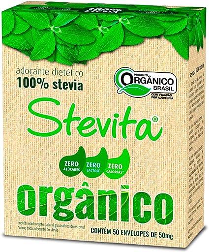 Stevia Dietético Orgânico 50 sc Stevita 50mg