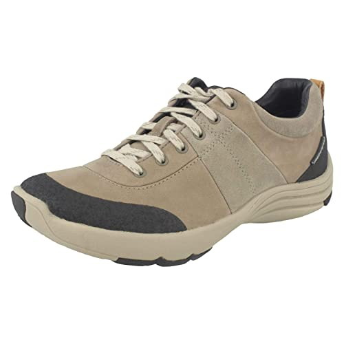 dca107001c0f Clarks Womens Wave Andes Sage Nubuck Trainer  Amazon.co.uk  Shoes   Bags