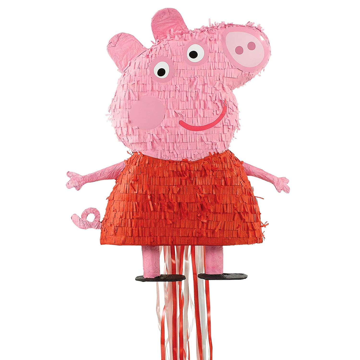 Fill With Sweets! Peppa Pig Pull String Pinjata Pinata Party Game Toy