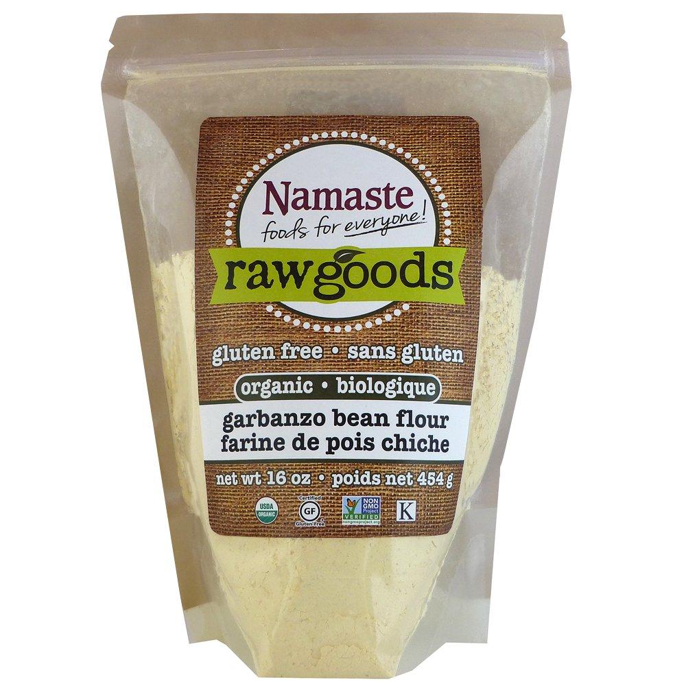 Namaste Foods Organic Garbanzo Bean Flour, 16 Ounce