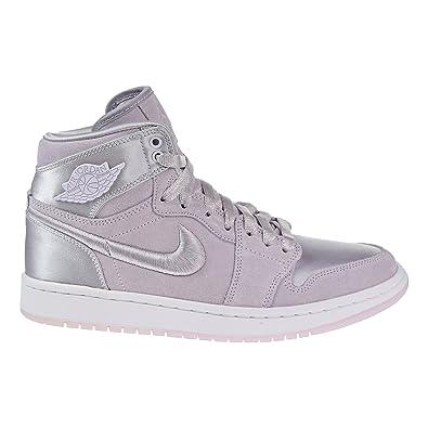 9707dcfaf38 Jordan Air 1 Retro High Women's Shoes Barely Grape/White ao1847-545 (12