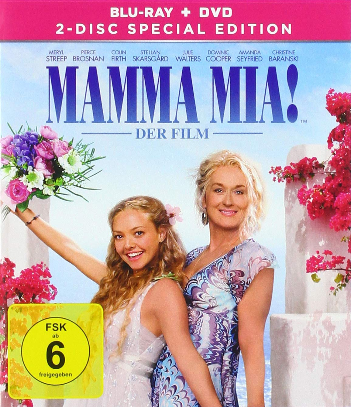Mamma Mia! - 2-Disc Special Edition - Blu-ray + Bonus DVD Alemania ...