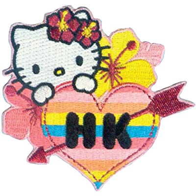 C&D Visionary Application Hello Kitty Hawaii Patch: Toys & Games