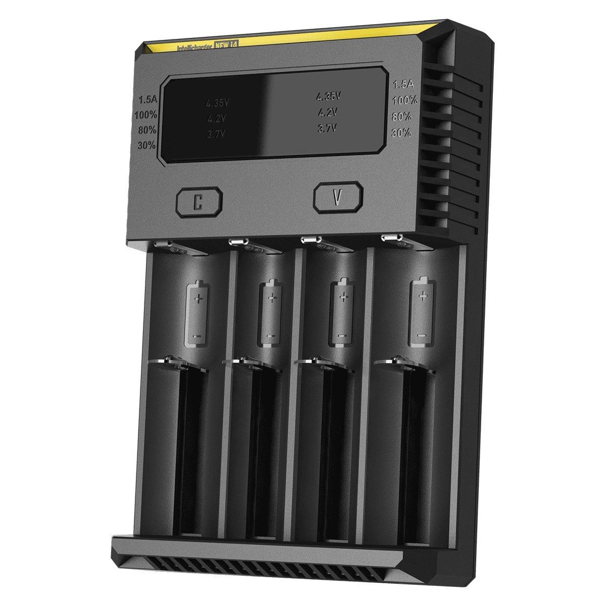 Nitecore i4 - Cargador para 4 pilas (AA/AAA, Ni-MH/Ni-Cd)