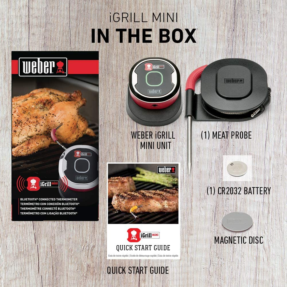 Weber iGrill 7202 Digital Bluetooth