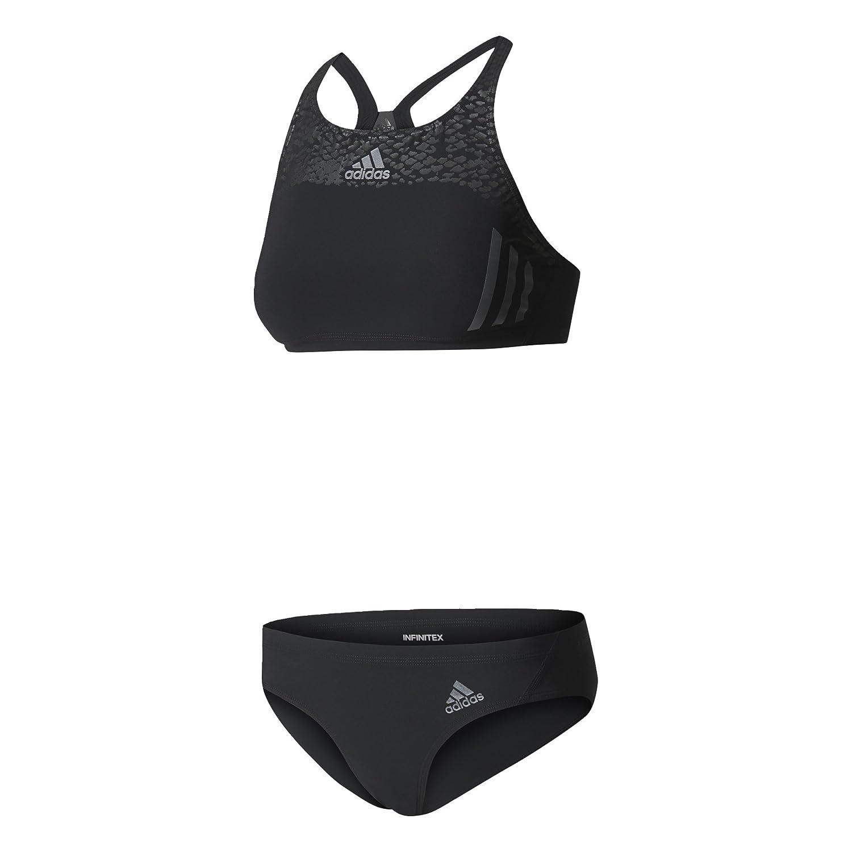 adidas Inf SL 2pc Bikini, donna, Donna, Inf Sl 2Pc, Nero (nero/nero) BK3698