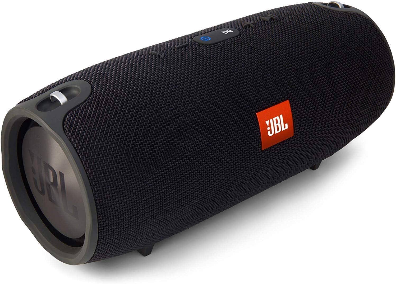 JBL Xtreme - Altavoz Bluetooth portátil (cancelación de ruido y carga USB), Negro