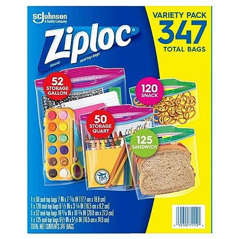 Ziploc 347 - Bolsas: Amazon.es: Hogar