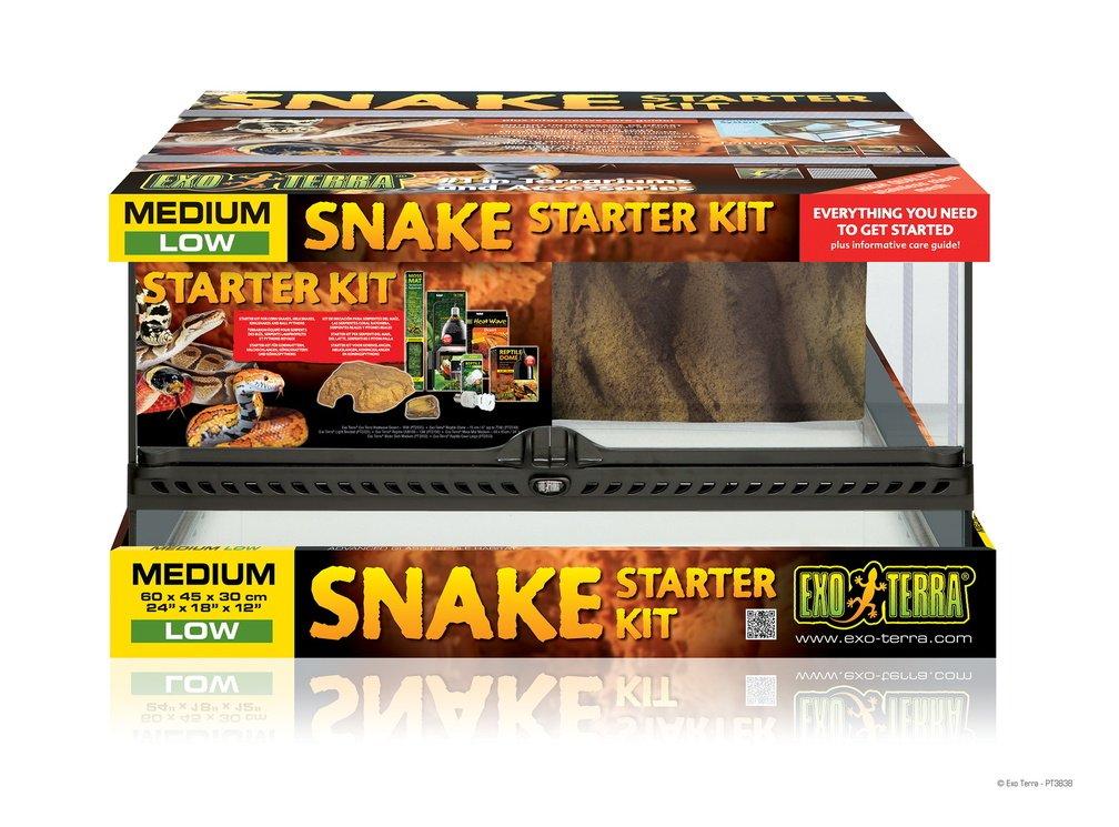 exoterra und Kit Terrarium für Schlange