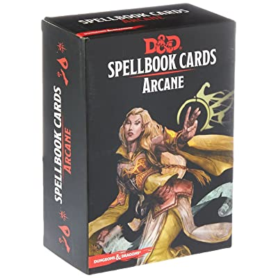 Dungeons & Dragons - Spellbook Cards: Arcane (257 cards): Toys & Games