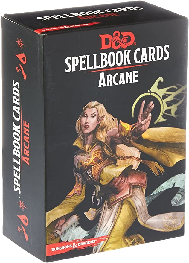 Dungeons & Dragons: Spell Book Cards: Arcane Deck Card Game (8 Players): Amazon.es: Juguetes y juegos