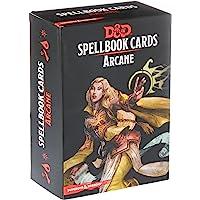 Gale Force Nine 73915 D&D: Spellbook Cards: Arcane Deck