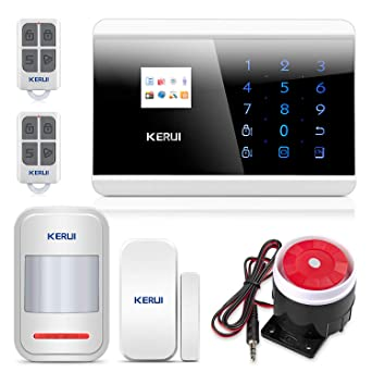 KERUI - GSM Sistema de alarmas, GSM Sistema de alarmas, Alarma GSM ...
