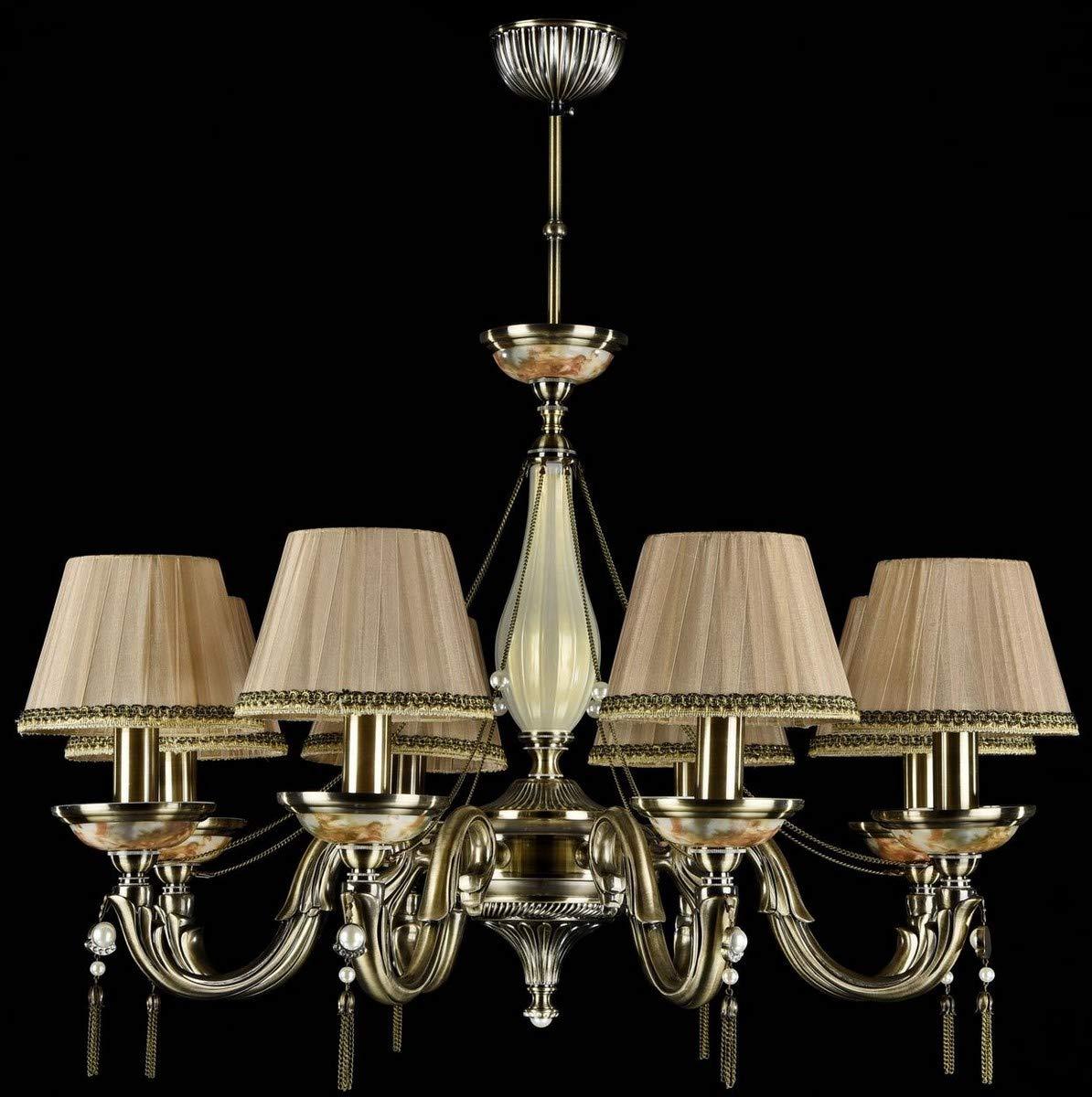 Casa Padrino Barock Kronleuchter Bronze Pfirsichfarben Ø 77 77 77 x H. 75 cm - Prunkvoller Kronleuchter im Barockstil B07JMGB55Q | Rabatt  e8a31b