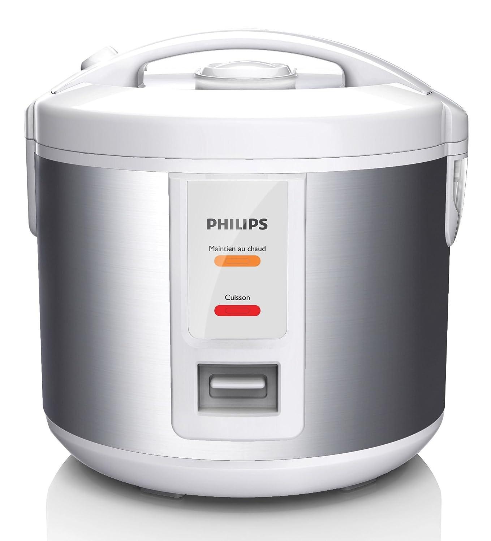 Philips Daily Collection HD3011/08 - Arrocera (Plata, Blanco, 1 L ...