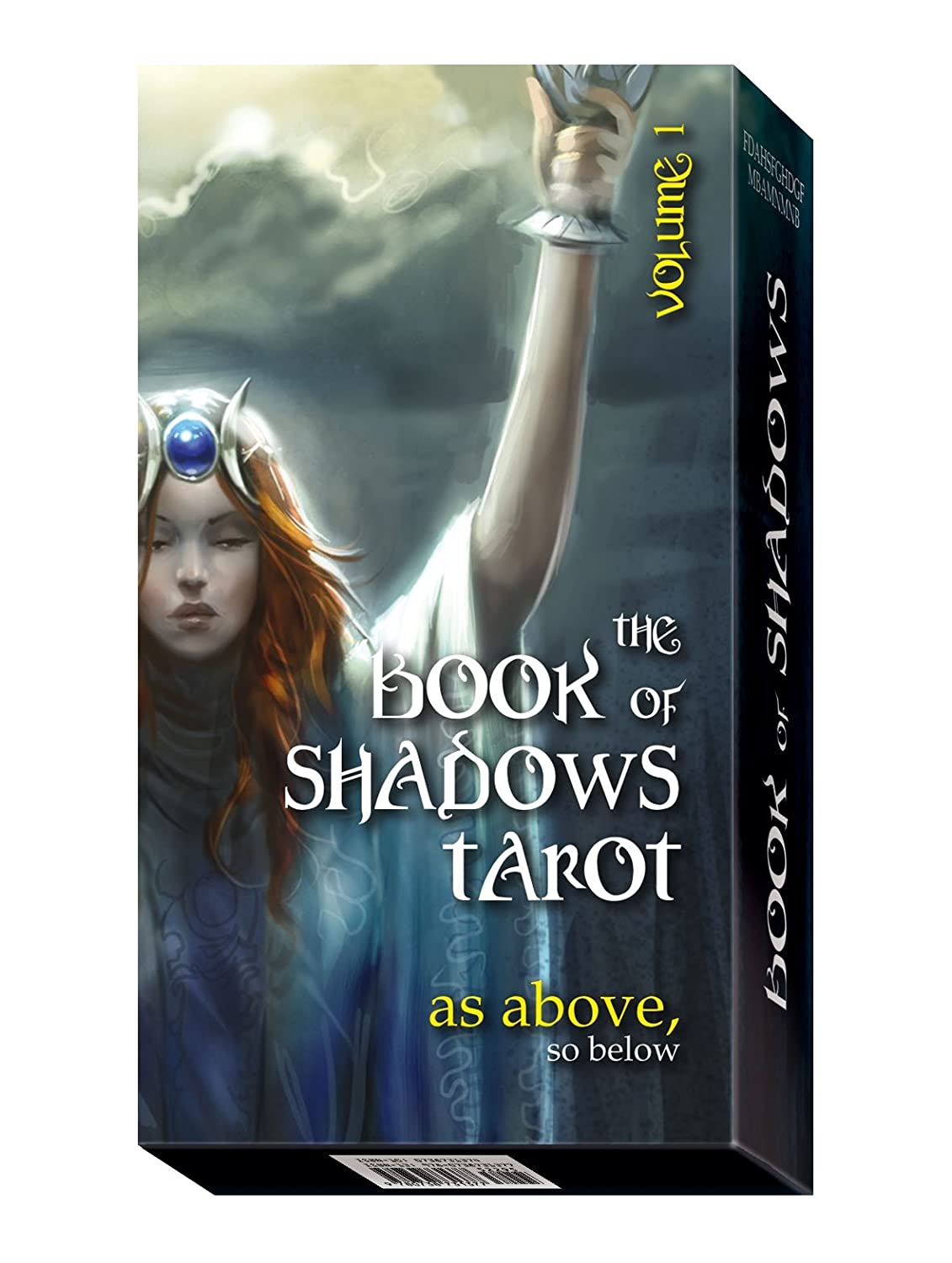 Book of Shadows Tarot: As Above Volume I: Full colour 78 card Tarot Deck and Instructions Barbara Moore Lo Scarabeo EX198 Mind