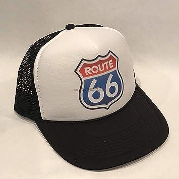GCCI Ocio Gorra de béisbol Usa Uu the Route 66 Gorra de camionero ...
