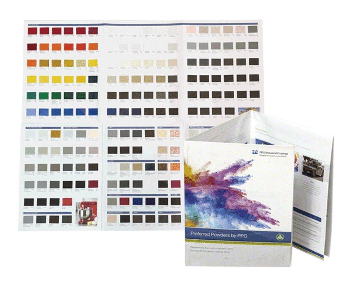 Amazoncom Crl Ral Powder Coat Color Brochure Home Improvement