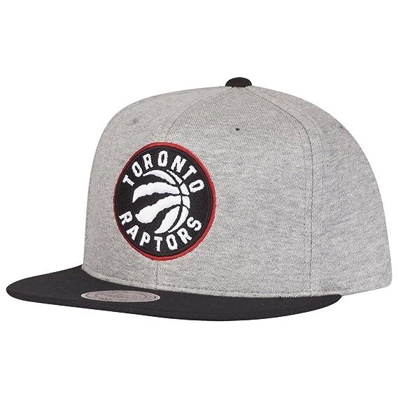 official photos b857b e0e1d Mitchell   Ness Mujeres Gorras   Gorra Snapback The 3-Tone NBA Toronto  Raptors