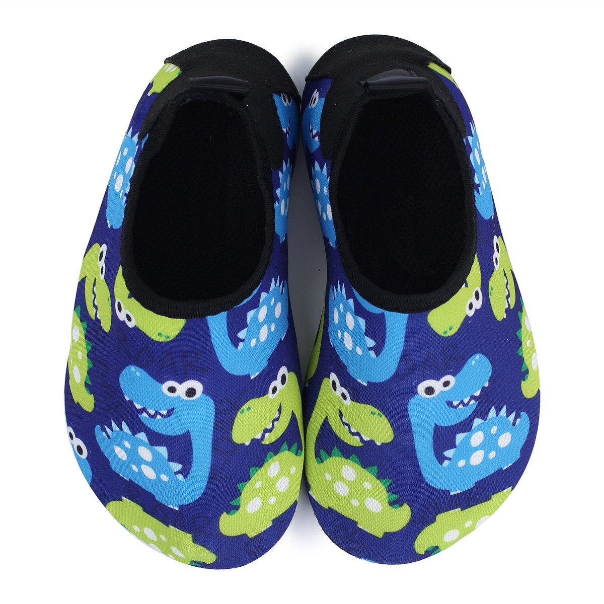JIASUQI Kinder Jungen M/ädchen Wasser Aqua Schuhe Schnell trocken Barfu/ß Aqua Socken f/ür Strand Schwimmbad