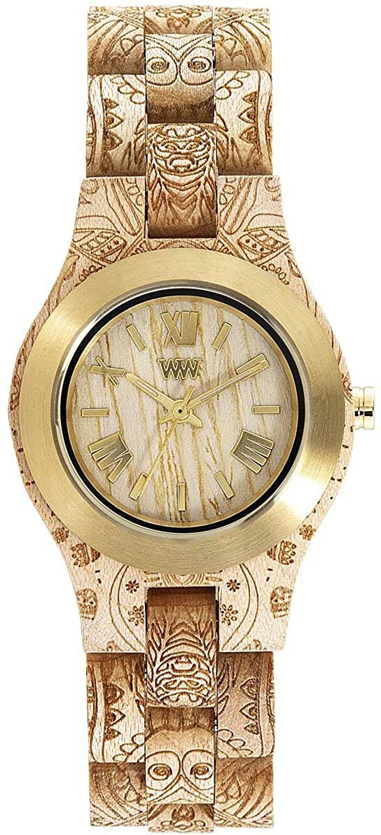 Wewood Women's Criss Beige Women Watch