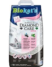 Biokat's Diamond Care Fresh Katzenstreu mit Duft | Hochwertige Klumpstreu für Katzen mit Aktivkohle und Aloe Vera