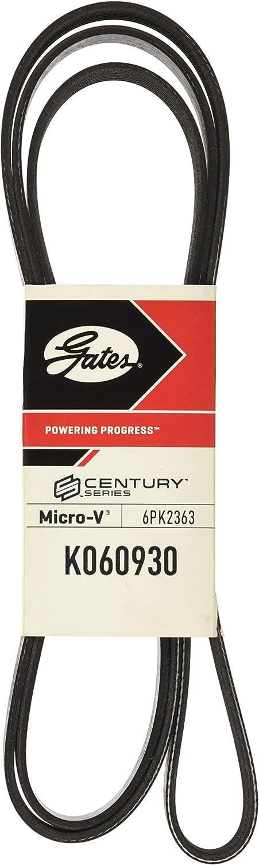 """Gates K060930 Multi V-Groove Belt, 93.02"""" x 0.807"""": Automotive"""