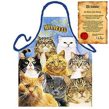 Delantal: Cats – Gatos para la nueva temporada de barbacoas Este Verano, o el
