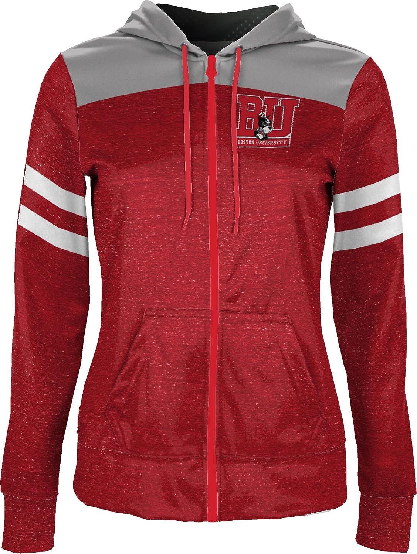 ProSphere Boston University Girls Zipper Hoodie Gameday School Spirit Sweatshirt