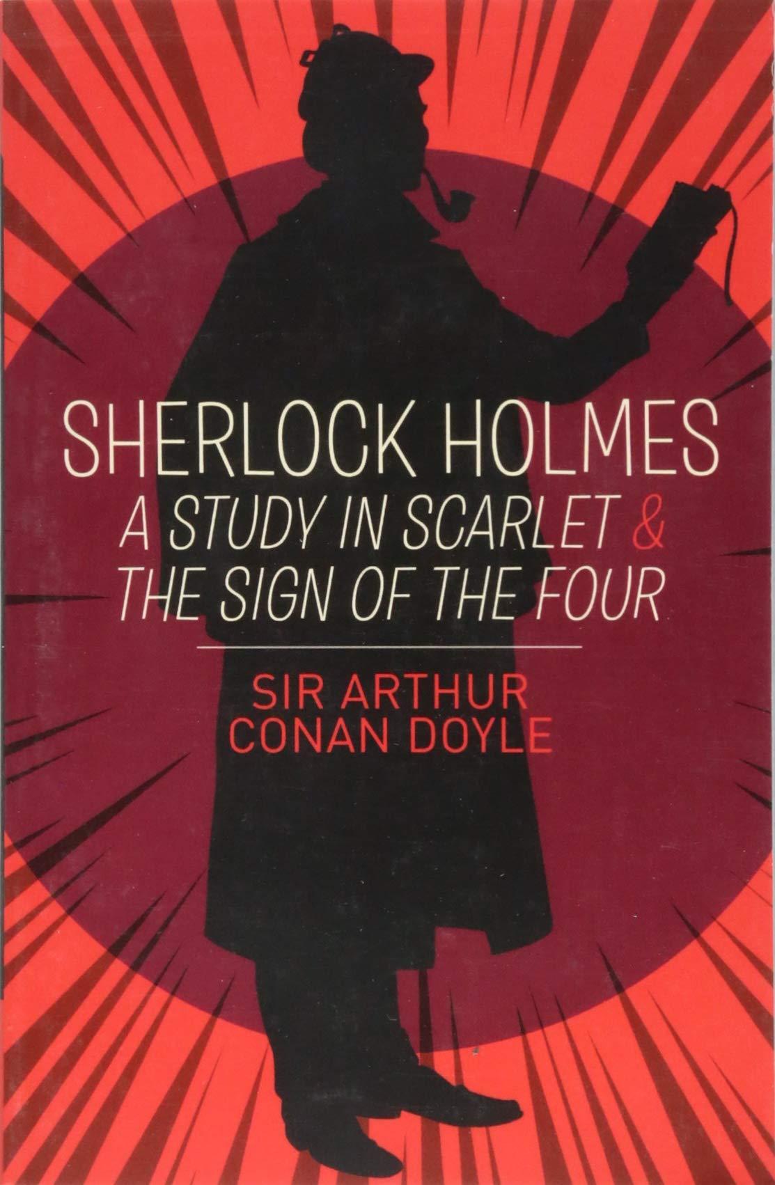 A Study In Scarlet The Sign Of The Four Sir Arthur Conan Doyle 9781788884082 Amazon Com Books