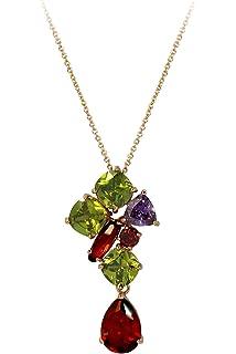 Rosette IMPERIALE - Genuine 18ct Rose Gold Finished Swarovski Elements Multi Coloured Crystals Luxury Studded Earrings tCMYjJDV