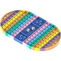 Big Pop Game Fidget Toy, Rainbow Chess Board Push Bubble Popper Fidget Sensory Toys for Parent-Child Time, Interactive…